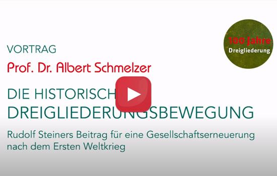Soziale Dreigliederung Vortrag Albert Schemlzer Dreigliederungsbewegung