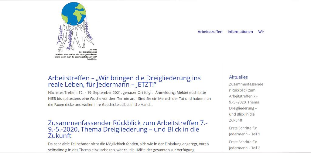 Soziale Dreigliederung Phoenix2020.de